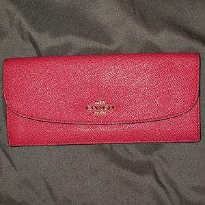 Coach slim cash wallet